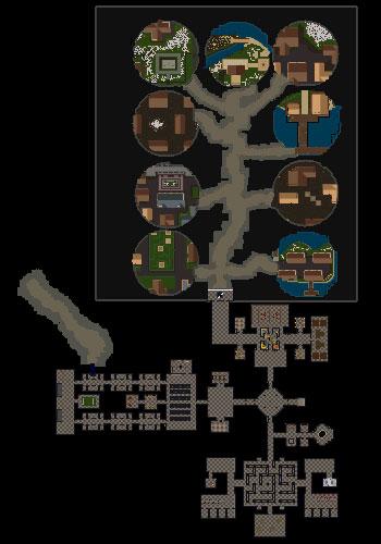 ブラックソーン城地下迷宮