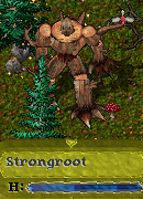 Strongroot 木人